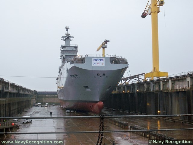 A decision on whether to deliver the second Mistral class LHD (amphibious vessel) to Russia will depend on Moscow's attitude over the Ukraine crisis, French President François Hollande said on July 21st, speaking during a dinner with the presidential press.
