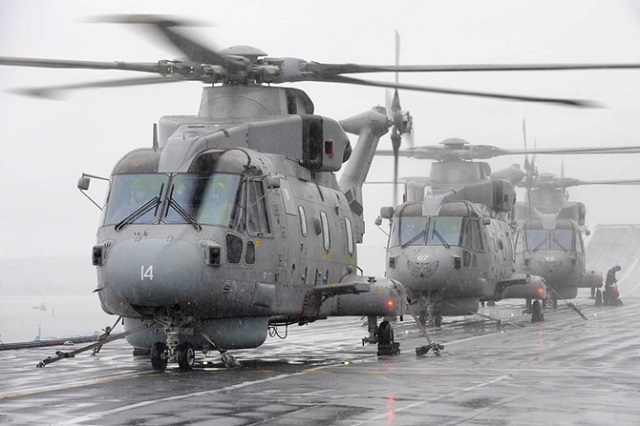 The UK MOD has awarded a helicopter support contract worth £580 million to AgustaWestland, sustaining more than 1,000 jobs across the UK. The deal, worth over half a billion pounds, will provide maintenance support to the Royal Navy's Merlin Mk2 and Mk3 helicopters over the next five years. The new contract is expected to deliver more than £140 million savings over that time.