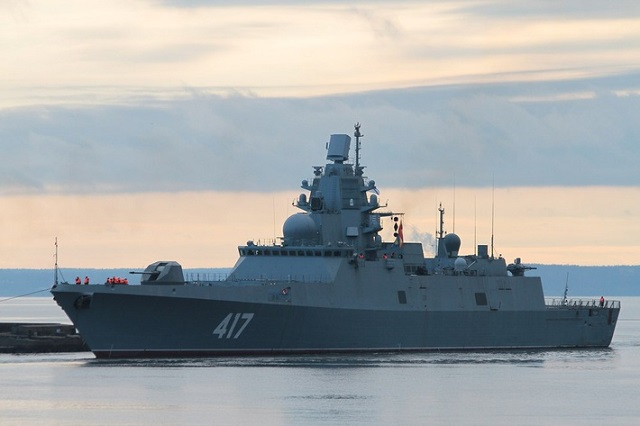 "Russian Navy's latest generation frigate (Admiral Gorshkov-class / Project 22350) is reported to have serious engine problems. According to flotprom.ru, the Severnaya Verf Shipyard in St. Petersburg announced on December 17 a tender worth 24 million rubles for ""disassembly and fault detection of a gas turbine engine with its subsequent equipment on order number 921 of project 22350"" (Admiral Gorshkov, the first ship of the new class which started sea trials in November)."