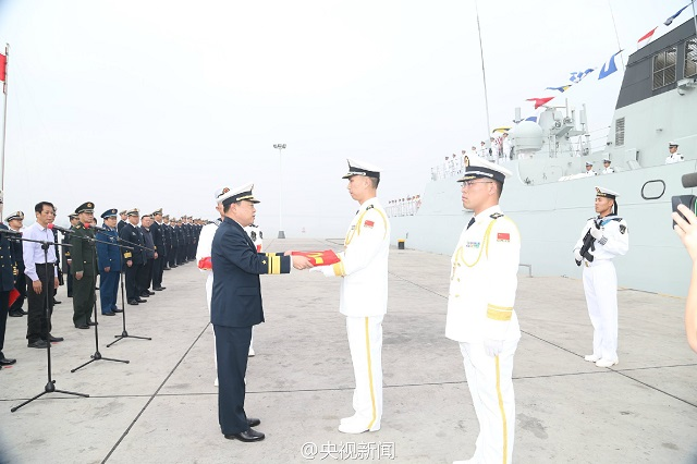 Just a few days following the commissioning of its first Type 056A ASW corvette (read our story here) the Chinese Navy (PLAN) commissioned two more corvettes simultaneously: On the same day (November 28th), the PLAN inducted Type 056 Corvette (Jiangdao class) Chaozhou (hull number 595) and Type 056A ASW Corvette Zhuzhou (hull number 594).