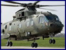 AgustaWestland announced today that it had delivered the first of seven upgraded AW101 Merlin HC Mk3 helicopters to the Royal Navy as part of Phase 1 of the Merlin Life Sustainment Programme (MLSP).