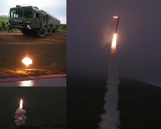 The Russian Navy Pacific Fleet coastal forces' missile formation troops conducted the first launch of their new 3K55 Bastion coastal defense mobile anti-ship missile systems (NATO reporting name: SSC-5 Stooge) in the Far East Primorsky Territory, the Eastern Military District's Pacific Fleet spokesman said Friday.