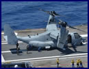 On July 6th, the French Navy Naval Aviation Practical Experimentation Center (centre d'expérimentations pratiques de l'aéronautique navale - CEPA 10S) and the crew of Charles de Gaulle tested for the first time a Bell Boeing V-22 Osprey tilt rotor aircraft aboard the French aircraft carrier.