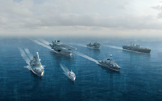 BAE Systems Joint Support Solution 2 JSS 2 Royal Navy Fleet