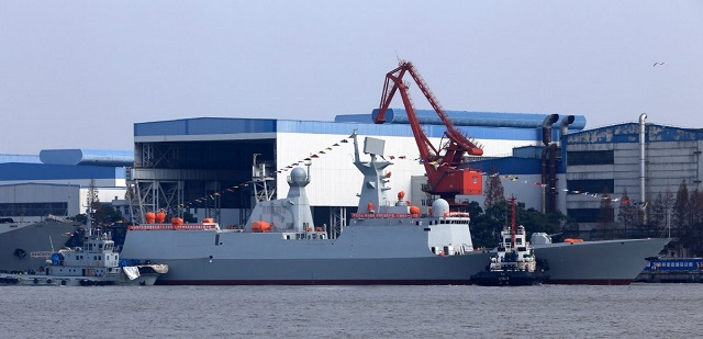 Chinese Shipyard Launched the 29th Type 054A Frigate for the PLAN 1