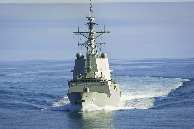 First Air Warfare Destroyer HMAS Hobart Handed Over to Royal Australian Navy