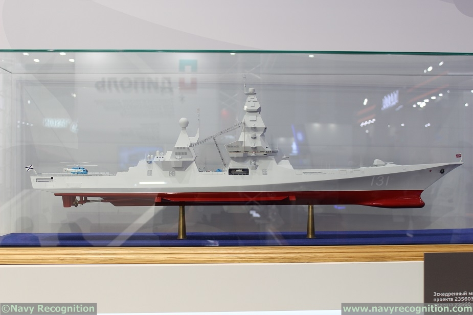 Project 23560 Leader class destroyer Russia 1