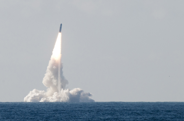 "The French Ministry of Defense announced that an M51 submarine launched ballistic missile (SLBM) was test launched ""in operational conditions"" from French Navy (Marine Nationale) ballistic missile submarine (SSBN) Le Triomphant on July 1st 2016."