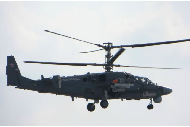 Russia's Project 11435 aircraft carrier Admiral Kuznetsov will receive the Kamov Ka-52K (NATO reporting name: Hokum-B) helicopter this year, Russian Deputy Defense Minister Yuri Borisov said. Borisov made this statement during a visit to the Progress Aircraft-Manufacturing Enterprise in Arsenyev in Russia's Far East.