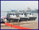 Three Immediate Support Vessels (ISV) Commissioned At Visakhapatnam for Indian Navy