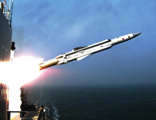 YJ 12A anti ship missile launch china