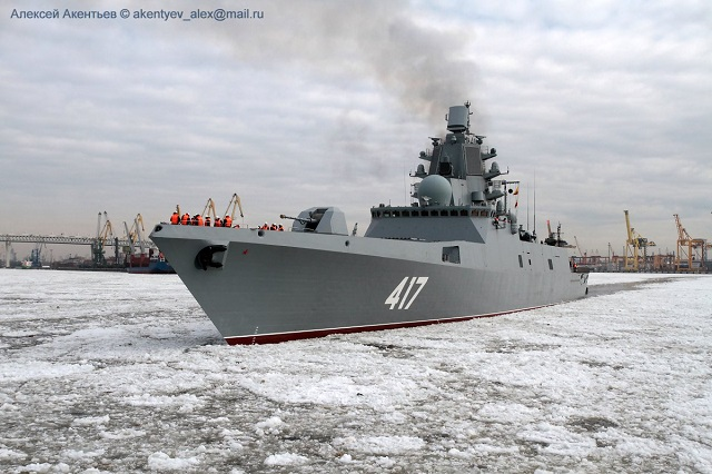 lead frigate Project 22350 Admiral Gorshkov