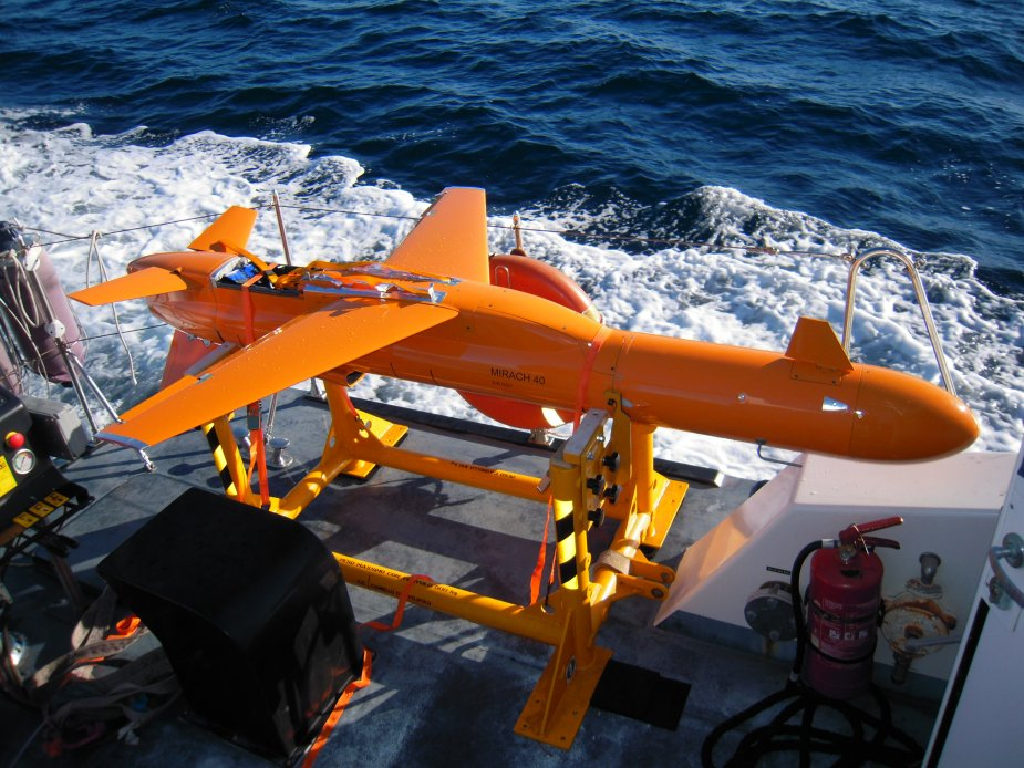 Italian Navy tested Leonardo made M 40 target drone during exercise