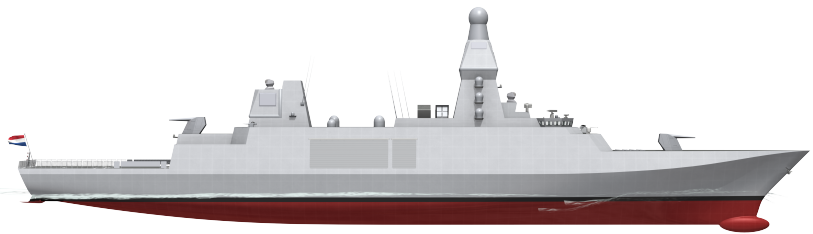 Thales Group awarded contract for the Belgian Dutch anti air frigates